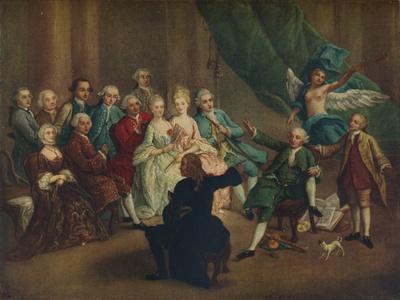 'David Garrick in the Green Room', 18th century