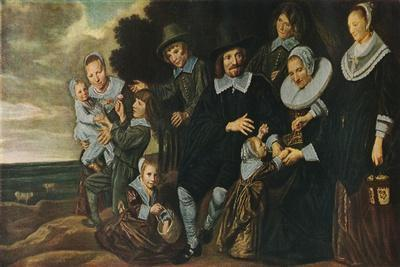'A Family Group in a Landscape', 1647-50