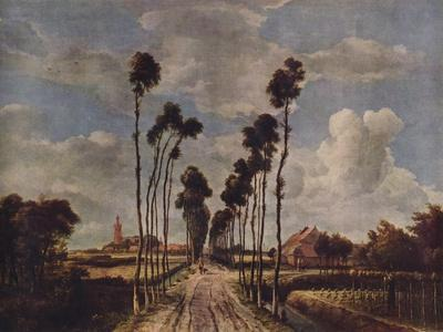 The Avenue at Middelharnis, 1689, (1938)