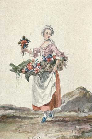 La Bouquetiere Garcon Cafetier, c18th century, (1903)
