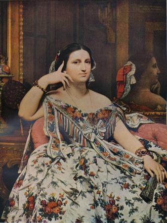 Madame Moitessier, 1856, (1936)
