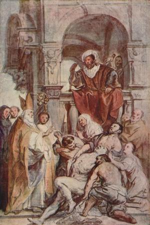 Saint Martin Healing a Possessed Man, c 17th century, (1903)