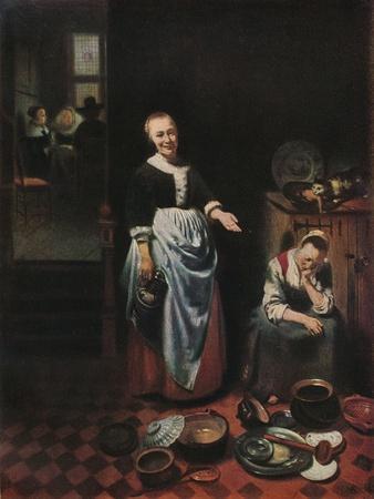 'The Idle Servant', 1655