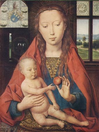 'Madonna and Child, from The Diptych of Maerten van Nieuwenhove', 1487