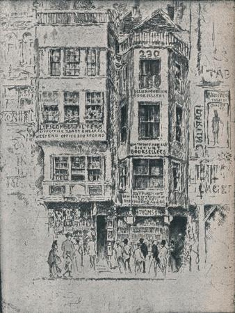 Old Strand Shops, c1900, (1906-7)