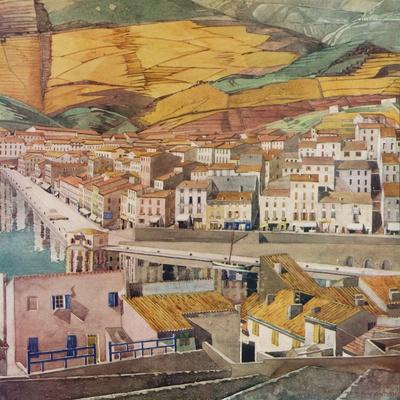 'Port Vendres, La Ville', c1925