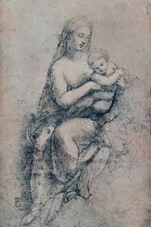 The Virgin and Child, study for the Madonna di Foligno, c1511. (1903)