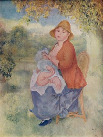 'Madame Renoir allaitant son enfant', c1885 (1932)