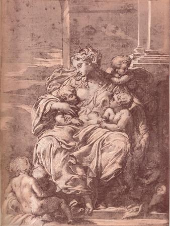 Charity, 16th century, (1903)