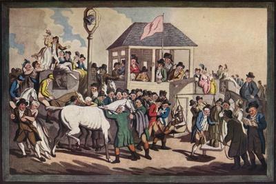 'Weighing', c1789