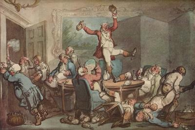 'The Hunt Supper', c1780-1825