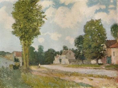 La Route de Versailles, 19th century, (1929)