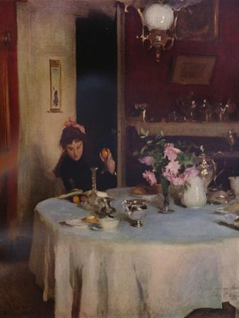 'The Breakfast Table', 1884 (1934)
