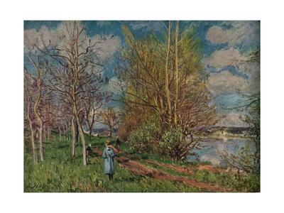 'The Small Meadows in Spring', c1880-1