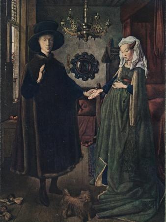 The Arnolfini Portrait, 1434, (1904)