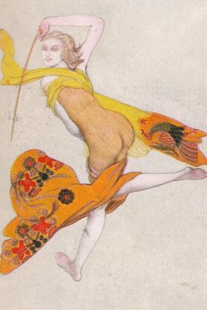 'Une Esclave Dansante', 1922, (1923)