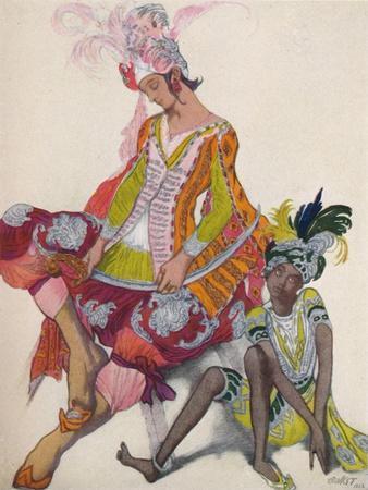 'Prince Et Esclave Revant', 1922, (1923)