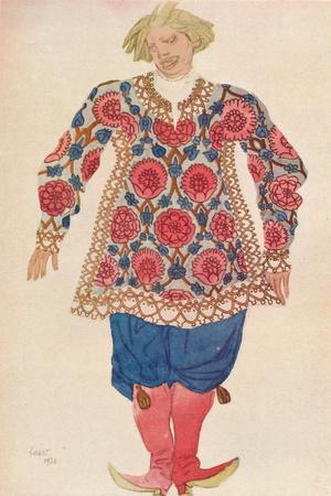 'Buffon Russe', 1924