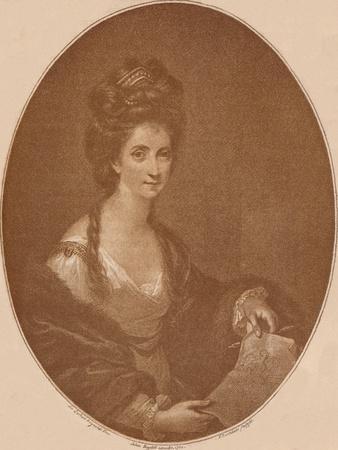 'Portrait of Angelica Kauffman', c1777 (1904)