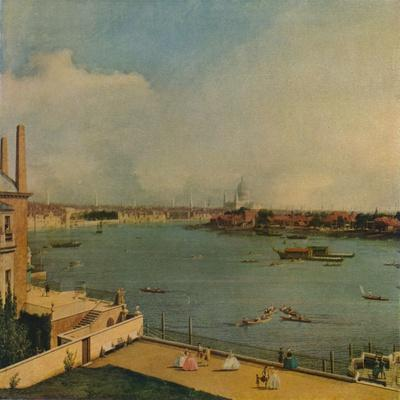 'The Thames from Richmond House', 1746
