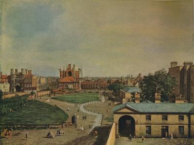 'Whitehall from Richmond House', 1746