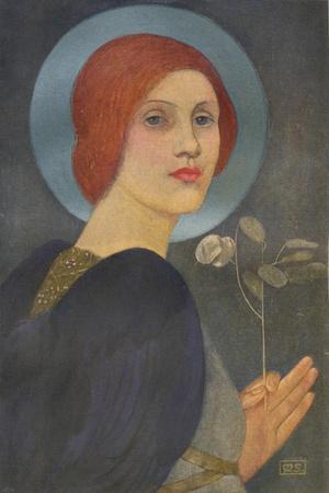 'An Angel', c1905