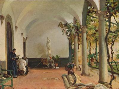 'Villa Torre Galli The Loggia', 1910