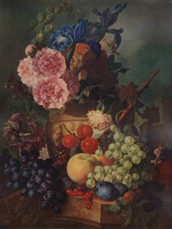 'Ornamental Vase of Flowers and Fruit', c1798, (1938)