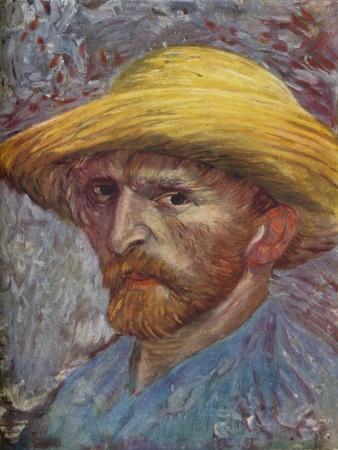 'Self Portrait with Straw Hat', 1887