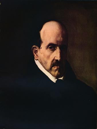 'Portrait of Don Luis de Gongora', 1622 (1931)