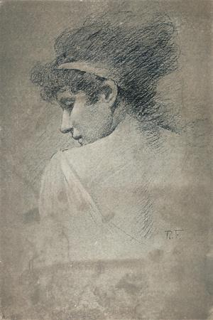 'Female Study', c1895, (1897)