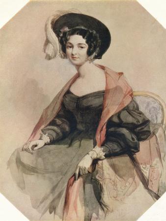 'Portrait of a Lady', c1855