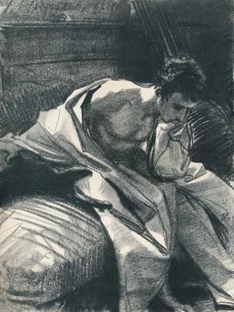 'Study of a Young Man, Seated', 1895, (1896)