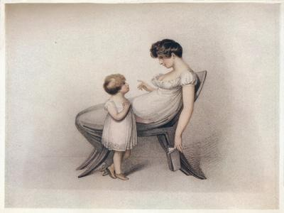 'I Could Not Learn My Book Mama', c1810