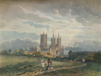 'Lincoln Cathedral', c1795