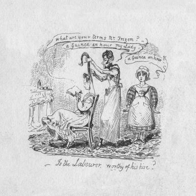 'Is the Labourer worthy of his hire?', 1829