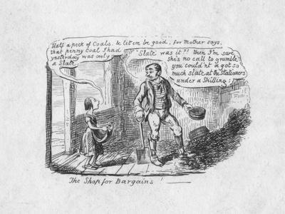 'The Shop for Bargains', 1829