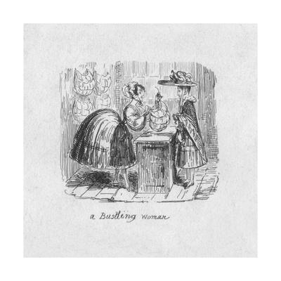 'A Bustling Woman', 1829