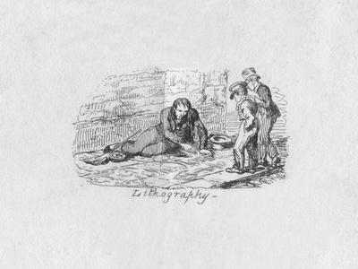 'Lithography', 1829