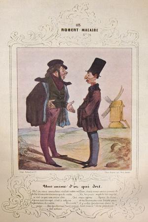 'Les Cent et un Robert Macaire', 1840 (1947)