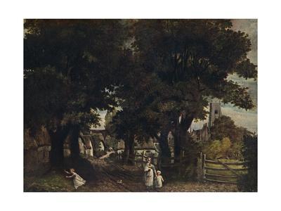 'Water Lane, Dedham', c1802, (1911)