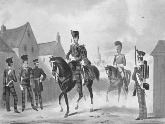 '71st Highland Light Infantry (Regiment (Review Order)', c1840 (1909)
