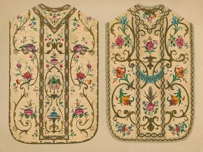 Embroidered Chasubles by Luigi & Ersilia Martini', 1893