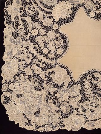 'Handkerchief of Lace of Irish Manufacture', 1863