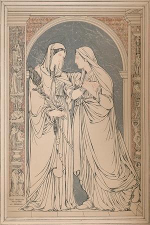 A Marble Mosaic Picture, by The Baron H. De Triqueti, Paris', 1893