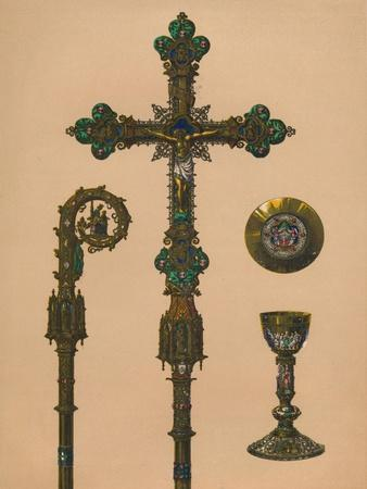 Objects for Ecclesiastical Use by E.C. Trioullier, Paris', 1893