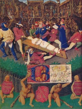 'The Martyrdom of St. Apolline', c1455, (1939)