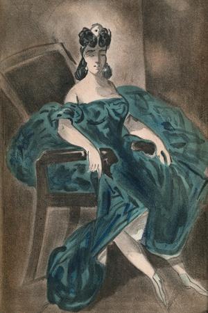 'Portrait II', 1865, (1939)