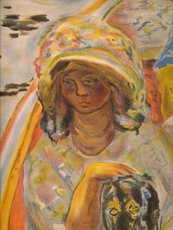 'En barque', 1907, (1939)