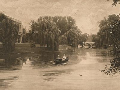 'The Cam at Cambridge with Trinity College', 1902